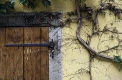 Fachada velha da casa Fotografia de Stock