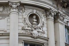 Fachada velha do edifício Imagem de Stock