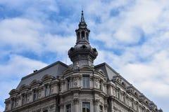 Fachada velha do edifício Imagens de Stock Royalty Free