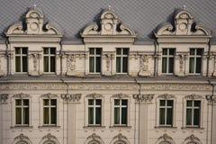 Fachada velha do edifício Imagem de Stock Royalty Free