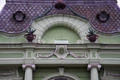 Fachada velha do edifício Fotos de Stock Royalty Free