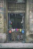 Fachada velha gasto de Havana Fotografia de Stock Royalty Free