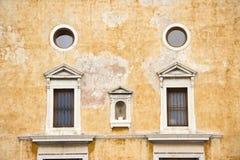 Fachada veneciana foto de archivo libre de regalías