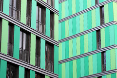 Fachada verde Imagens de Stock Royalty Free