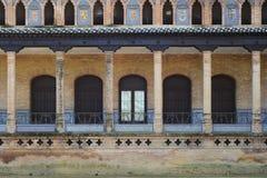 Fachada vieja de la casa Foto de archivo libre de regalías