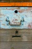 Fachada vieja de la colmena Imagenes de archivo