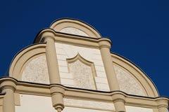 Fachada vieja del edificio Imágenes de archivo libres de regalías