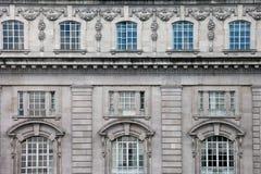 Fachada vitoriano na rua dos regentes Imagens de Stock Royalty Free