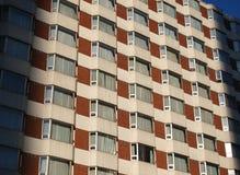 Fachada y azotea del hotel Imagen de archivo