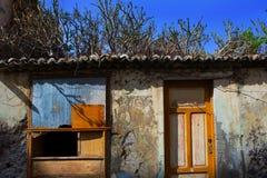 Fachadas coloniales de la casa de Santa Cruz de La Palma Imagenes de archivo