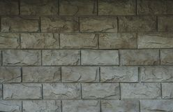 Fachadas da pedra e do tijolo das construções, a pedra e os fundos e as texturas do tijolo para desenhistas e modelagem 3D Imagens de Stock Royalty Free