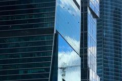 Fachadas de construções do negócio Imagens de Stock Royalty Free
