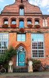 Fachadas de Lueneburg-V-Alemanha Fotografia de Stock