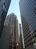 Fachadas do arranha-céus fotografia de stock royalty free