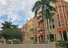 Fachadas do edifício em Nápoles Imagens de Stock Royalty Free