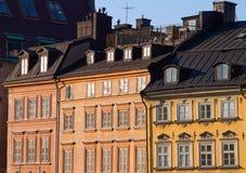 Fachadas européias. Imagens de Stock