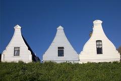 Fachadas históricas holandesas Fotografía de archivo libre de regalías