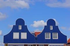 Fachadas holandesas do edifício imagens de stock