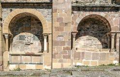 Fachade de la iglesia Imagenes de archivo