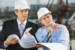 Fachleute bei der Sitzung Lizenzfreie Stockbilder