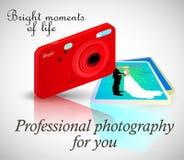 Fachowa fotografia dla ciebie Obrazy Royalty Free