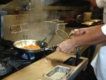 Fachowa kuchnia: robić kumberlandowi zdjęcia stock
