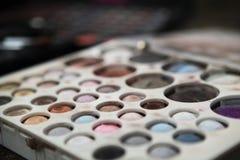 Fachowa makeup paleta Zdjęcia Royalty Free