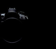 Fachowa nowożytna DSLR kamery depresji klucza zapasu fotografia, wizerunek/ Fotografia Stock