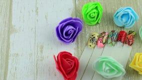 Fachowi szablony gwoździe w kwiatach zdjęcie wideo