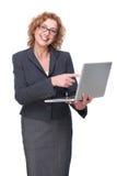 Fachowy Biznesowy uśmiech obrazy stock