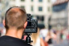 Fachowy fotograf zdjęcia royalty free