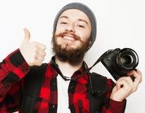 Fachowy fotograf Fotografia Stock