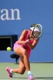Fachowy gracz w tenisa Shuai Peng od Chiny podczas round 4 dopasowania Fotografia Stock