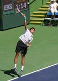 fachowy gracza tenis Zdjęcie Stock