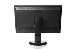Fachowy graficzny monitor, tylni widok Zdjęcie Stock