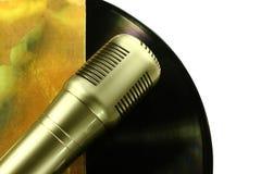 Fachowy kondensatorowy pracowniany mikrofon, Zdjęcie Stock