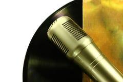 Fachowy kondensatorowy pracowniany mikrofon pojęcie musical Zdjęcie Royalty Free