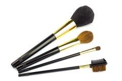 Fachowy kosmetyk szczotkuje dla makeup na białym tle Obraz Royalty Free