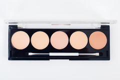 Fachowy makeup kolekci zestaw Obraz Royalty Free