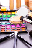 Fachowy makeup zestaw Zdjęcie Royalty Free
