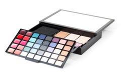 Fachowy makeup zestaw Zdjęcia Stock