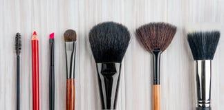 Fachowy makijażu muśnięcie Zdjęcie Stock