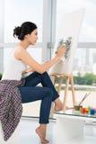 Fachowy malarz Obrazy Stock