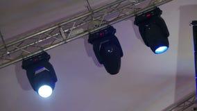 Fachowy Oświetleniowy wyposażenie Dla koncerta światło na scenie, Oświetleniowi przyrząda zbiory wideo