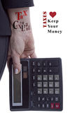 Fachowy podatku konsultant zdjęcia royalty free