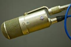 Fachowy rocznika mikrofon; Opactw Drogowi studia, Londyn Zdjęcia Stock
