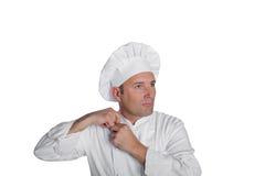 Fachowy szef kuchni Obraz Royalty Free