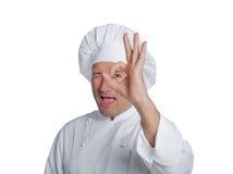 Fachowy szef kuchni Zdjęcie Royalty Free
