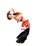 Fachowy tancerz Balkan Fotografia Stock