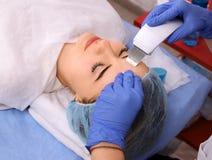 Fachowy ultrasonic wyposażenie obrazy royalty free